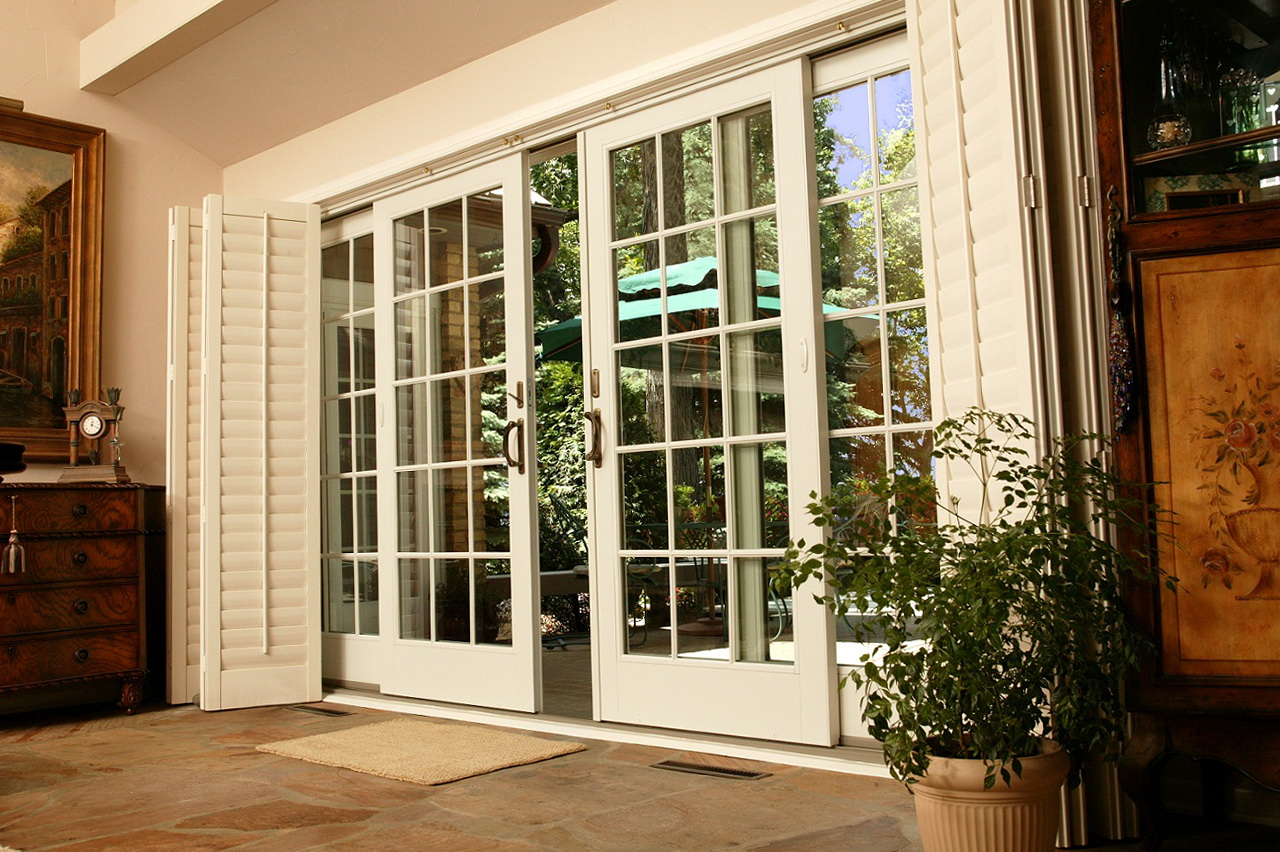 Andersen Patio Doors With Blinds