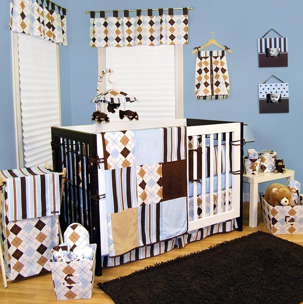 Baby Boy Bedding Sets Blue