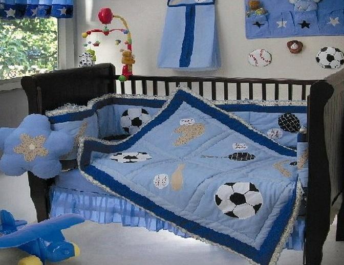 Baby Boy Bedding Sets Sports Theme