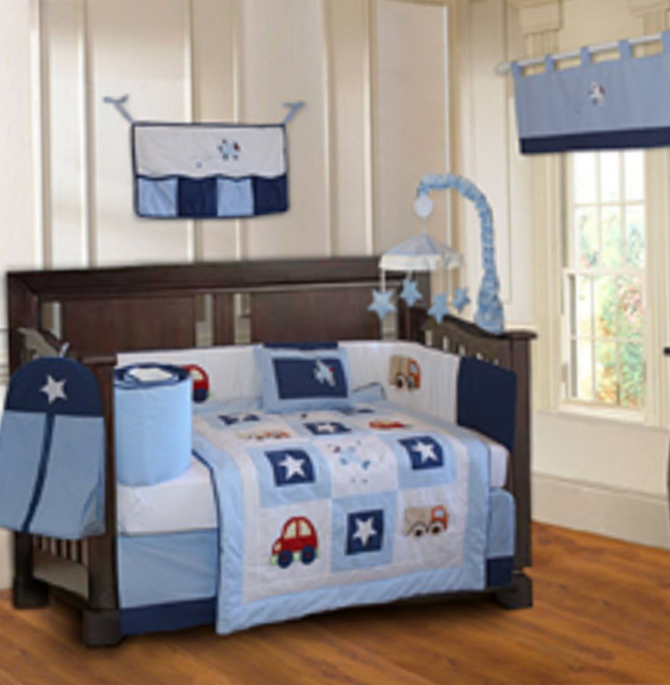 Baby Boy Crib Bedding Cars