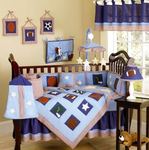 Baby Boy Crib Bedding Sets Sports