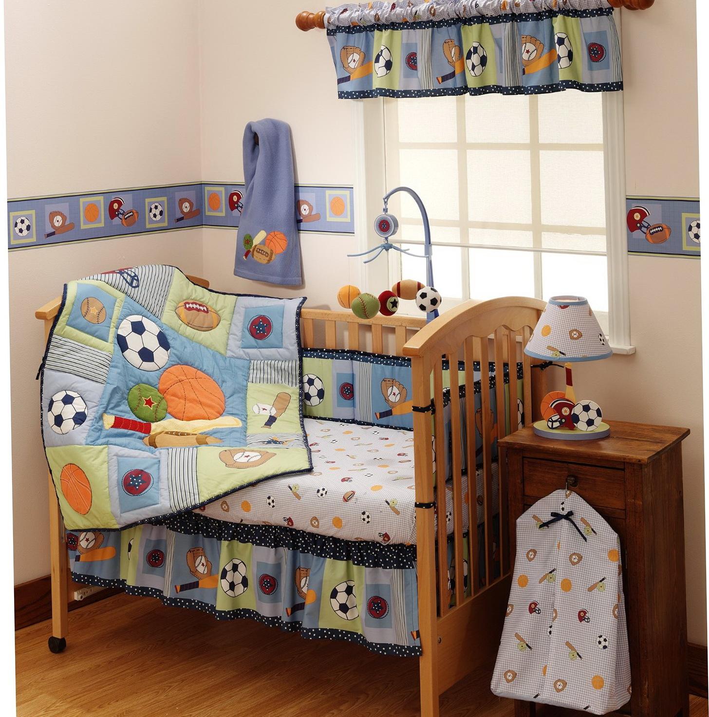 Baby Boy Crib Bedding Sports