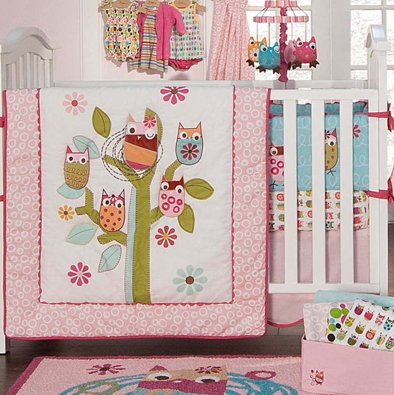 Baby Crib Bedding Owl