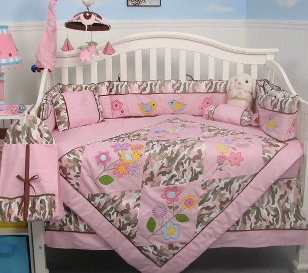 Baby Crib Bedding Sets For Girls