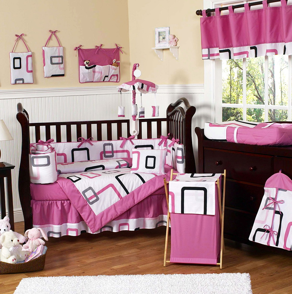 Baby Girl Bedding Crib Sets