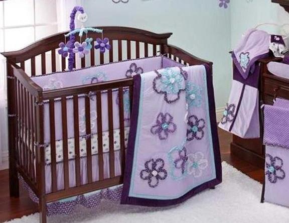Baby Girl Bedding Purple