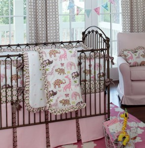 Baby Girl Bedding Set