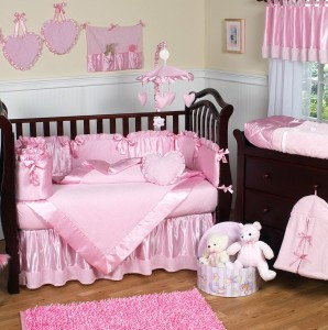 Baby Girl Bedding Sets Pink