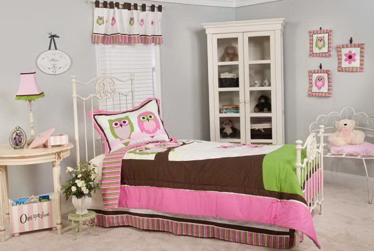 Baby Girl Crib Bedding Owls