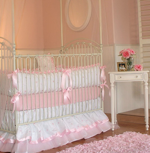 Baby Girl Crib Bedding Princess