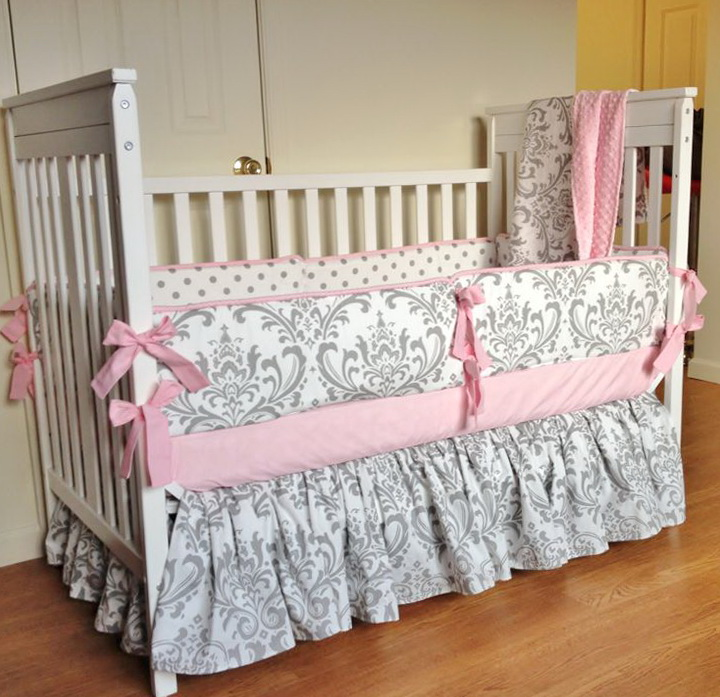Baby Girl Crib Bedding Sets Etsy