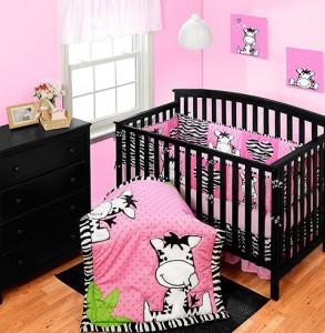 Baby Girl Crib Bedding Sets Zebra