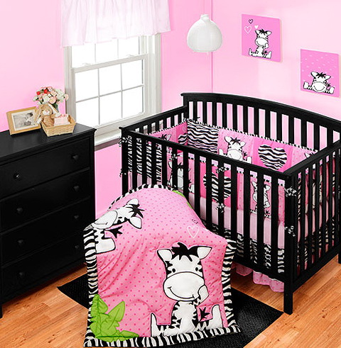 Baby Girl Crib Bedding Sets Zebra
