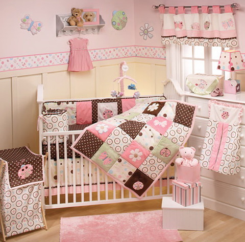 Baby Girl Nursery Bedding Ideas