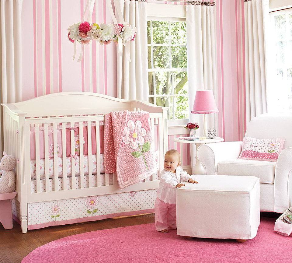 Baby Girl Nursery Bedding Themes