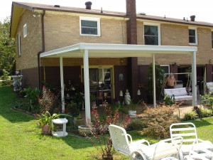 Brown Aluminum Patio Covers