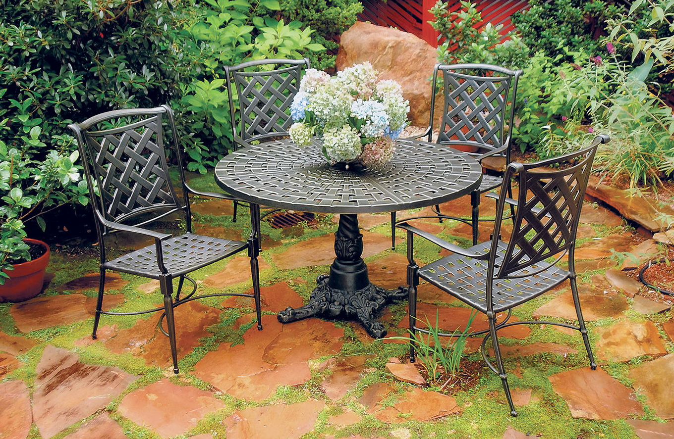 Cast Aluminum Patio Furniture Brands