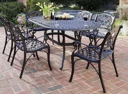 Cast Aluminum Patio Furniture Refinishing