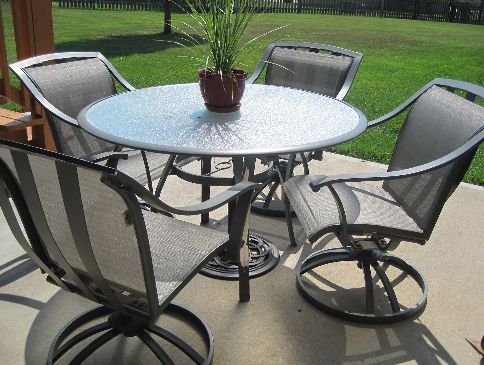 Hampton Bay Patio Furniture Set