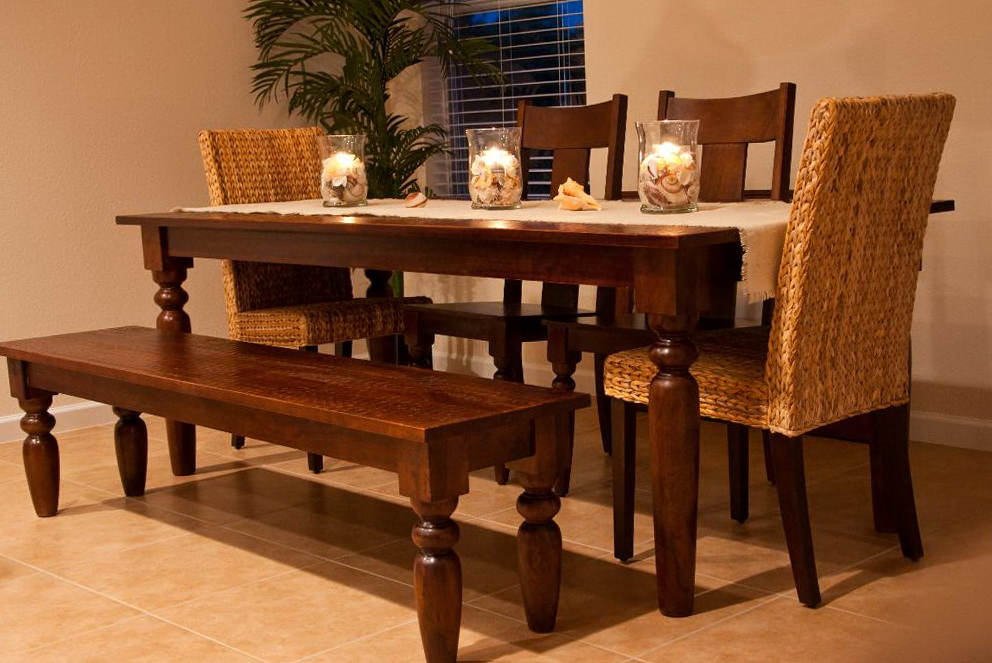 Kitchen Table And Chairs With Bench