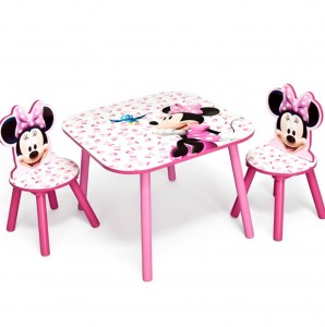 Minnie Mouse Toddler Table And Chairs