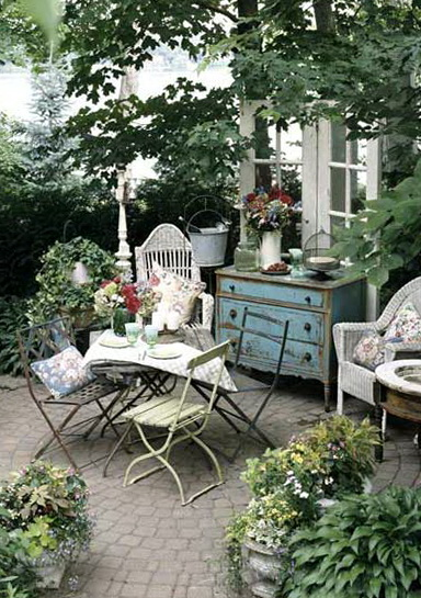 Outdoor Patio Ideas Small Spaces