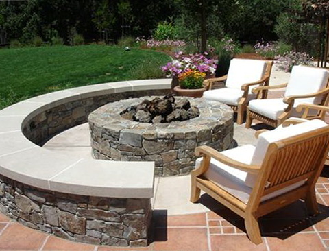Outdoor Patio Ideas With Firepit
