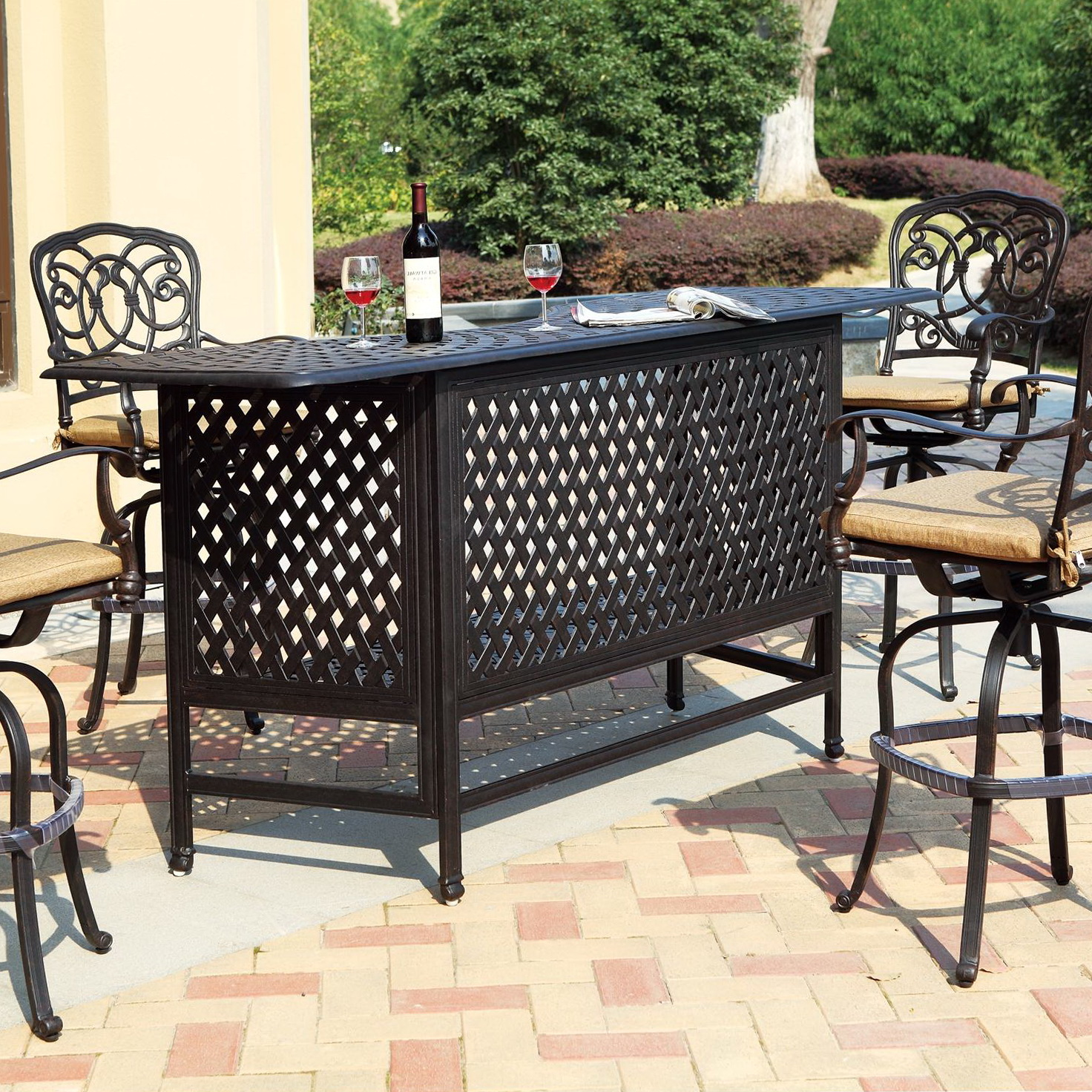 Patio Bar Set Cheap