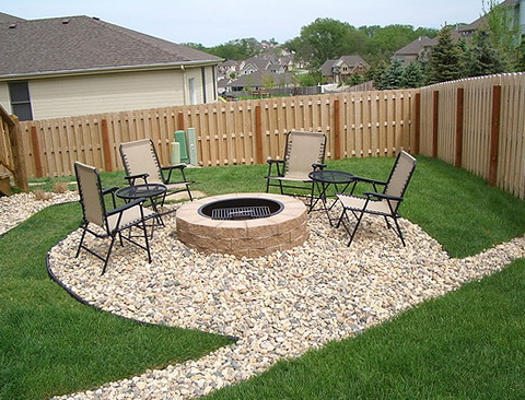 Patio Fire Pit Design Ideas
