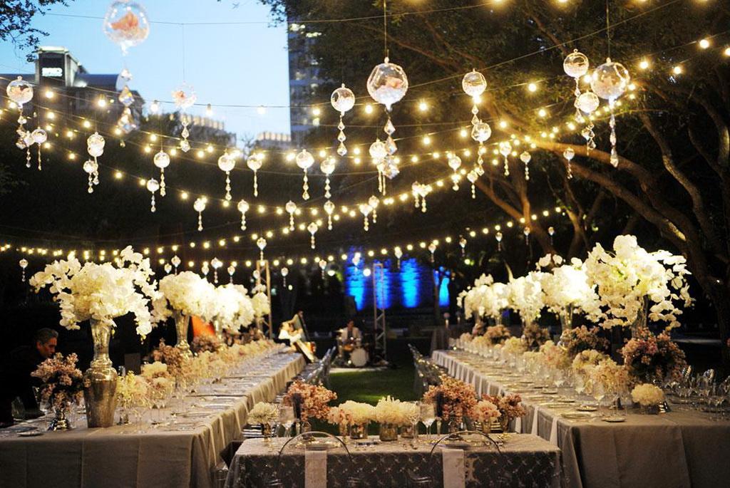 Patio String Lights Clear Bulbs