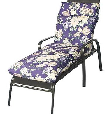 Purple Outdoor Chair Cushions
