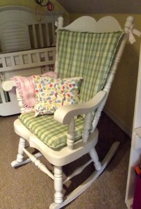 Rocking Chair Cushions Diy