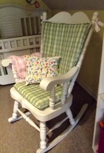 Rocking Chair Cushions Diy