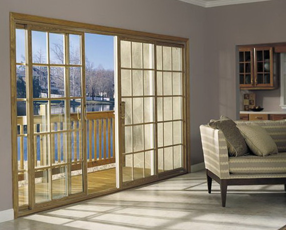 Sliding Patio Doors With Grids