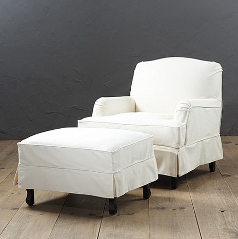 Slipcovers For Chairs With Arms And Ottoman