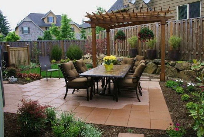 Small Patio Ideas Images