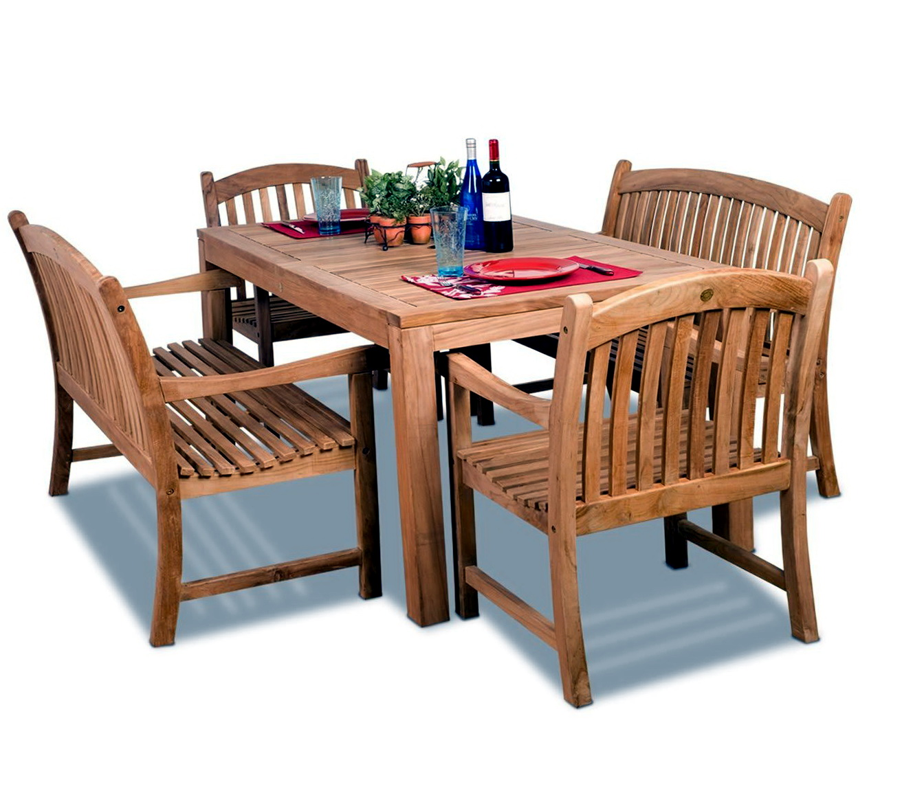 Teak Patio Furniture Lowes