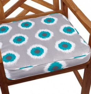 Teal Outdoor Chair Cushions