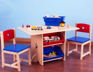 Toddler Table And Chairs With Storage