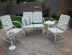 Vintage Aluminum Patio Furniture