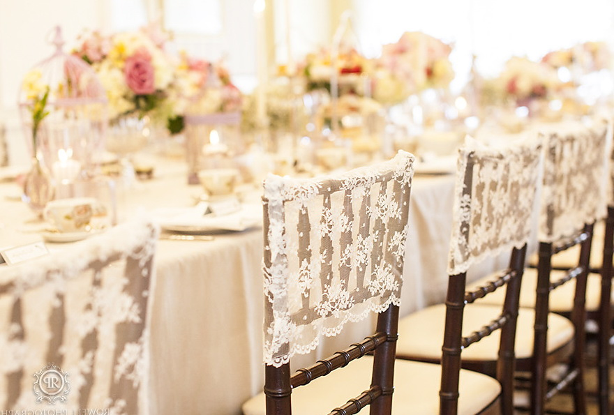 Wedding Chair Covers Vintage