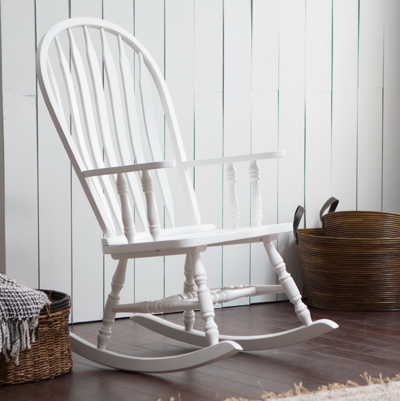 White Outdoor Rocking Chairs