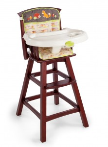 Wooden High Chair Canada