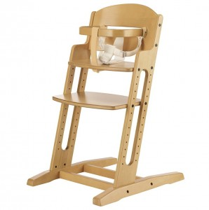 Wooden High Chair Pad With Straps