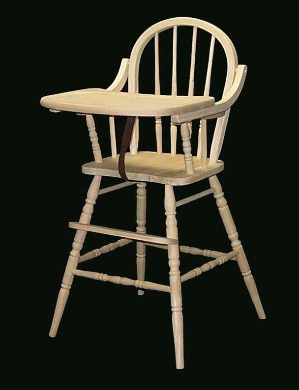 Wooden High Chair Pads