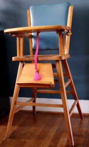 Wooden High Chair Plans
