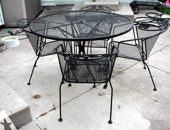 Wrought Iron Patio Furniture Parts