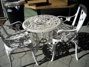 Wrought Iron Patio Furniture Rust