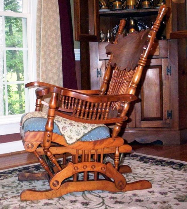 Antique Glider Rocking Chair