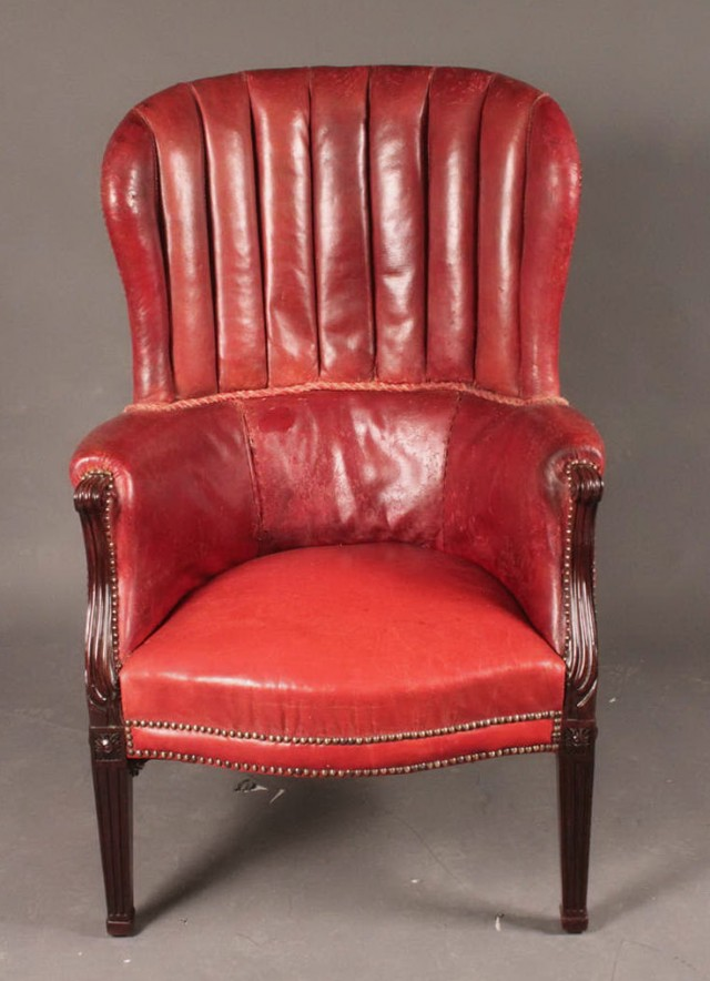 Antique Wing Back Chairs